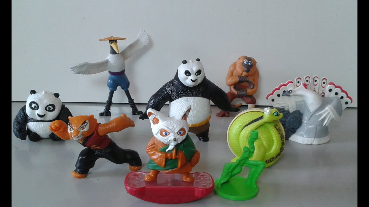Kung Fu Panda 2 Mc Lanche Feliz 2011 Youtube