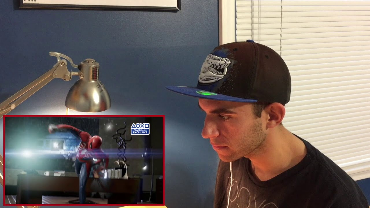 Spider-Man | PGW (PS4) Trailer Reaction - YouTube