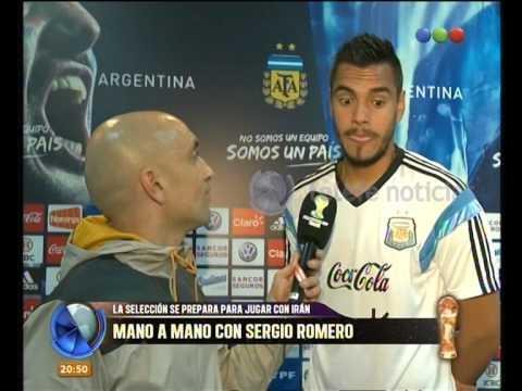 Entrevista a  Sergio Romero - Telefe Noticias