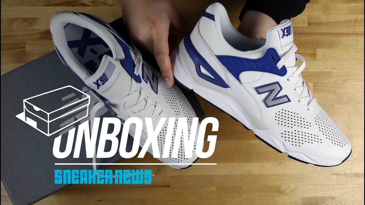 Unboxing The New Balance X-90. Sneaker News bfd16178d22