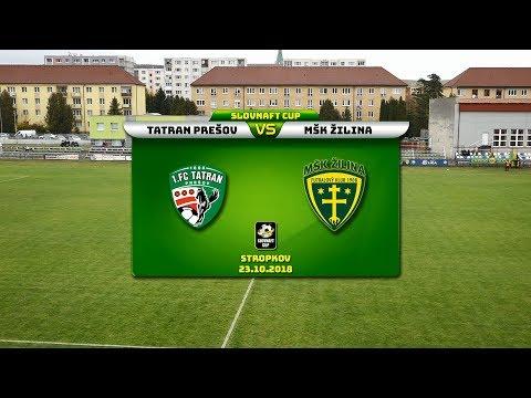 6b7a60765eee8 1. FC Tatran Prešov - MŠK Žilina 1:2 (1:1) - YouTube