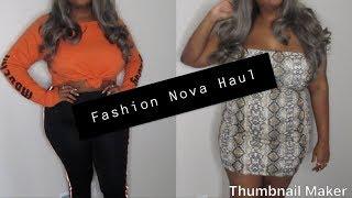 Trendy Fashion Nova Haul (Plus Size Try On)