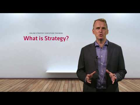 What is Business Strategy? A simple business  strategy definition!