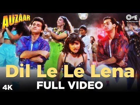 Dil Le Le Lena Full Video- Auzaar | Salman, Sanjay Kapoor & Shilpa | Abhijeet, Anu Malik
