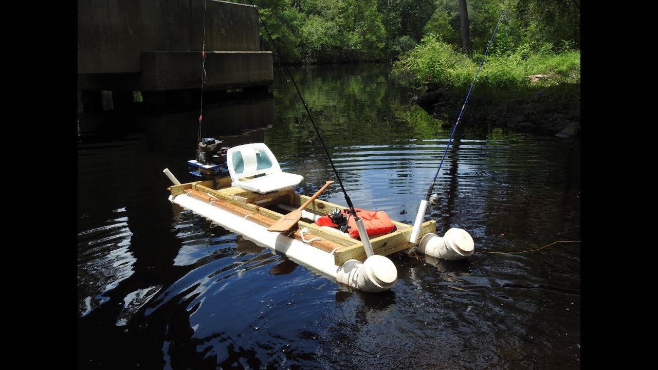 Cheap 100 homemade pvc fishing kayak how to doovi for Cheap fishing kayaks