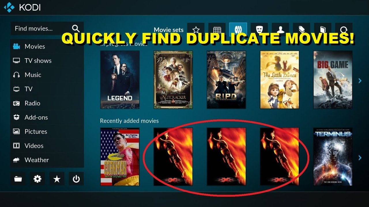 How to Find Duplicate Movies in Kodi: Show all duplicated rows in table SQL  SQLite 2018