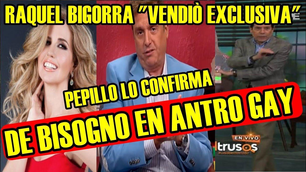 PEPILLO ORIGEL asegura que RAQUEL BIGORRA fue quien FILTRO EL VÍDEO de DANIEL BISOGNO