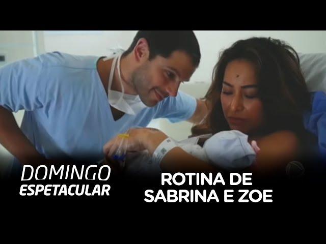 Sabrina Sato fala sobre maternidade e a nova rotina com Zoe