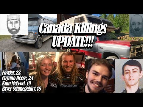 Canada Highway Killings and disappearances - Crazy