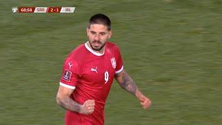 Srbija vs Irska   Fantastičan Gol Mitrovića za 2:1   SPORT KLUB FUDBAL