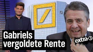 Sigmar Gabriel geht zur Deutschen Bank