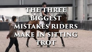The 3 Biggest Mistakes Riders Make in Sitting Trot - Dressage Mastery TV Ep 121