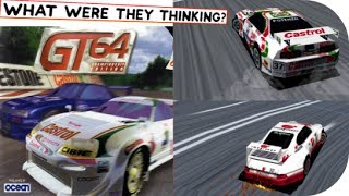 GT 64 - Championship Edition (Nintendo 64) Gameplay & Comments HD