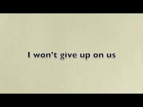 I Won T Give Up Jason Mraz Lyrics Youtube