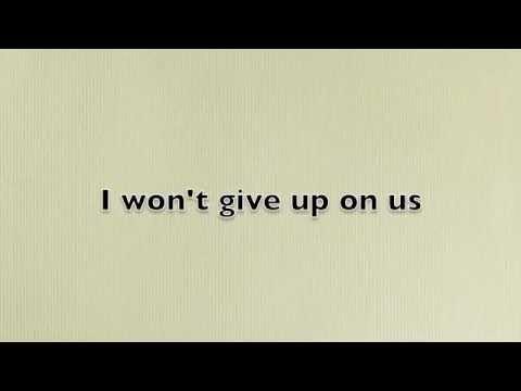 I Won't Give Up - Jason Mraz (Lyrics)