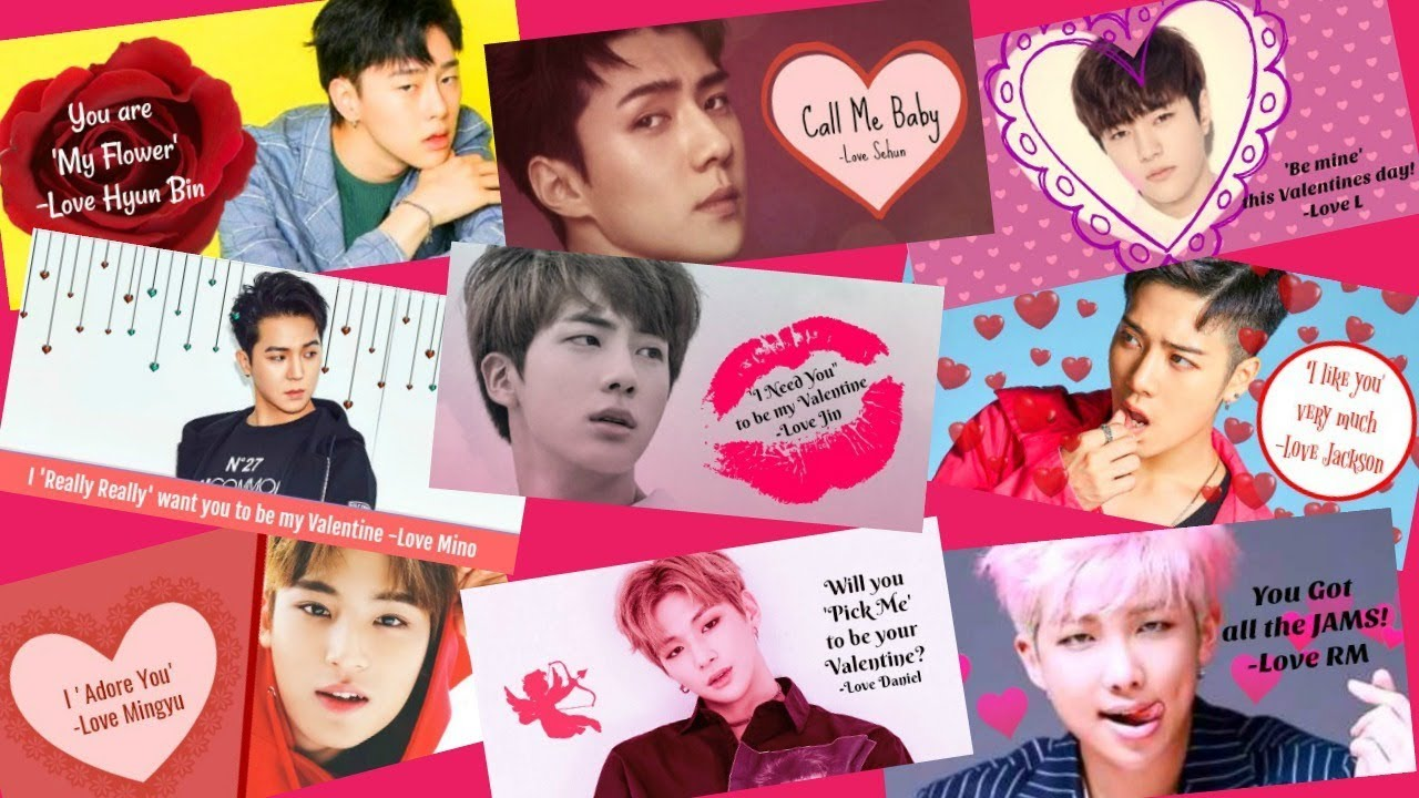 Diy Kpop Valentine Cards How To Design Your Own Youtube