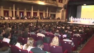 24-04-14 Inauguraron el 1er Congreso Internacional de Residuos de la Provincia