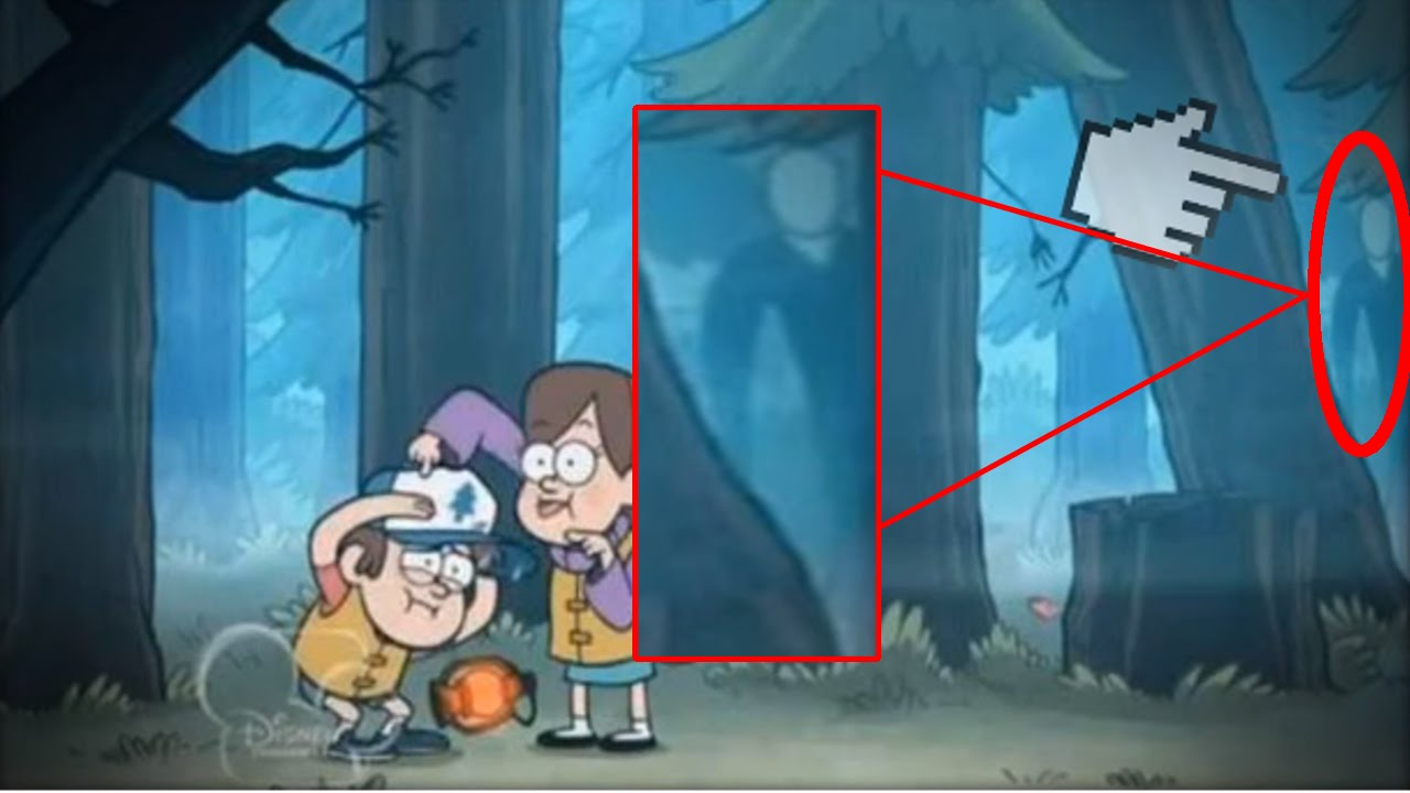 Fall Disney Wallpaper Slender Man Gravity Falls Www Pixshark Com Images