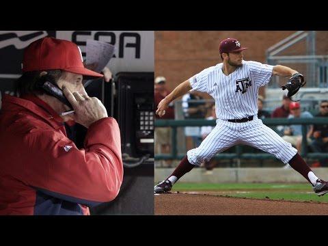 Eastern Oklahoma Players PRANK Texas A&M Baseball Team with Bullpen Phone Call
