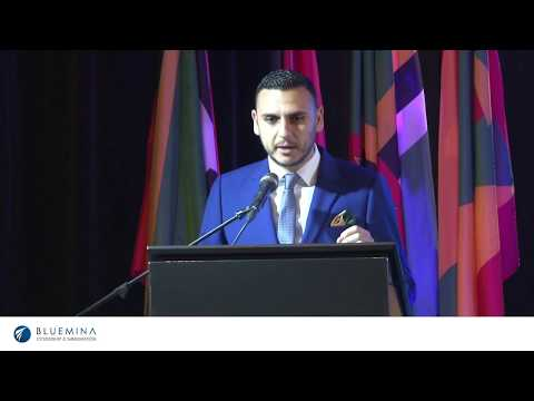 St kitts and Nevis Passport by investment summit 2018 | Bashar Daoud | Bluemina