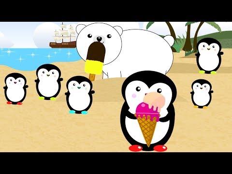 Pingvini na plaži