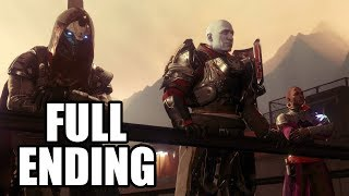 Destiny 2 - ending and after credits scene