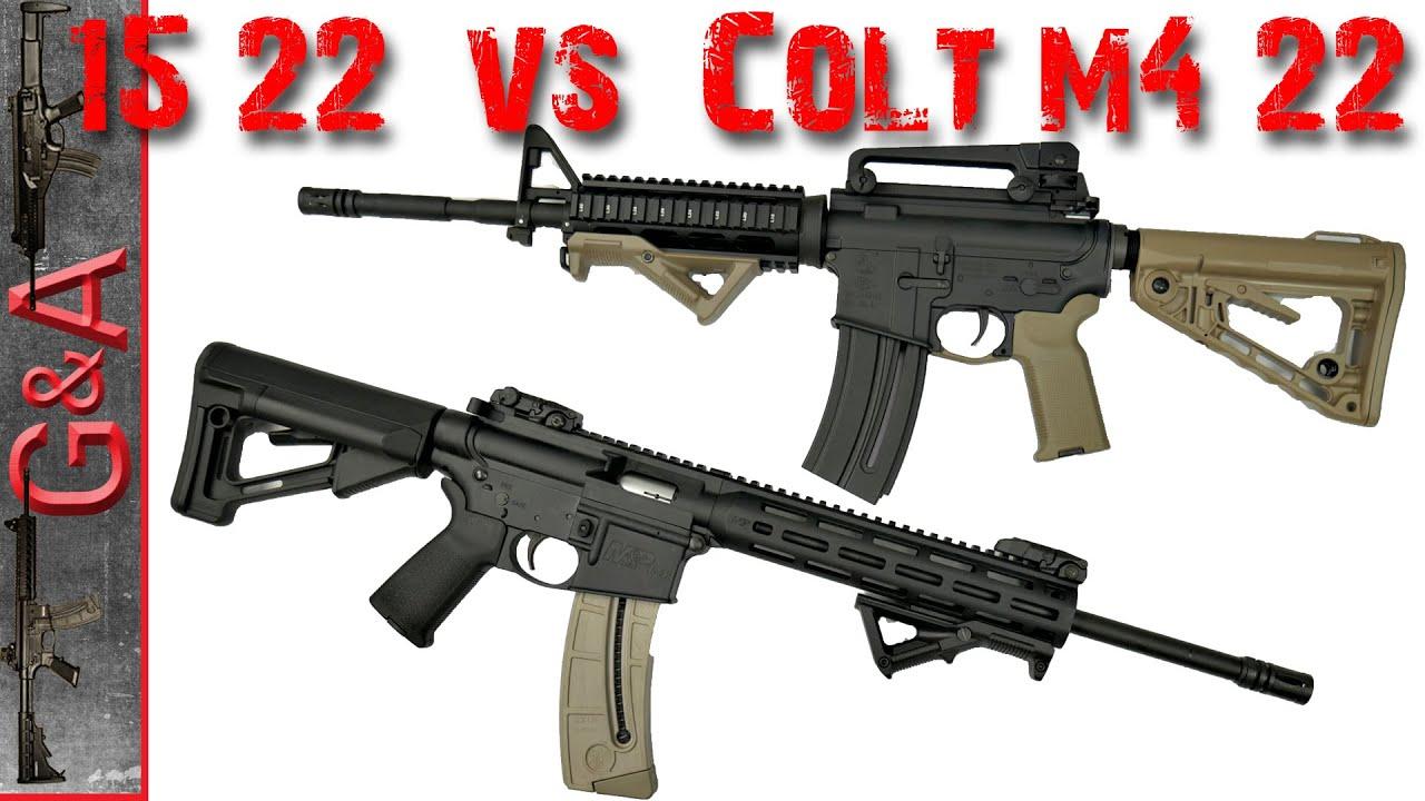 M&P 15-22 vs Colt M4 22lr Smith & Wesson