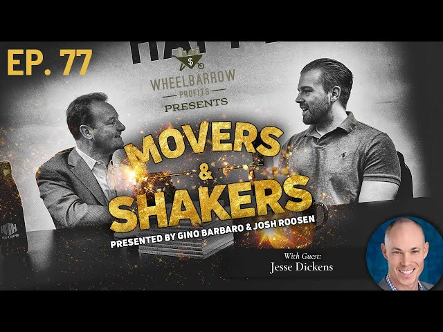 From Analysis by Paralysis to Multifamily Investor with Jesse Dickens-Movers and Shakers-Episode 77