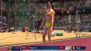 Beijing Olympics The Video Game Javelin Gameplay