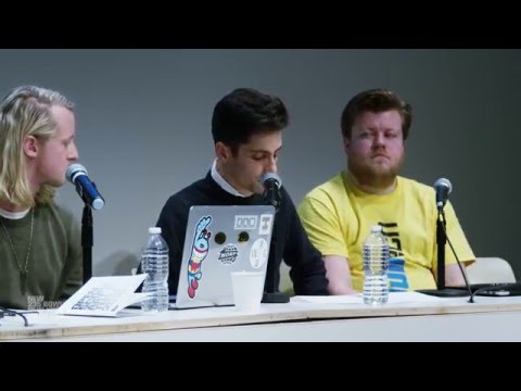 Open Score 2016: Panel 4: The Future of Internet Art, presented by New Museum and Rhizome