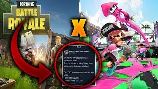 🔥 NEW EVENT - Fortnite x Splatoon Leaked Collab - Collaboration Filtered #SplatoonxFortnite