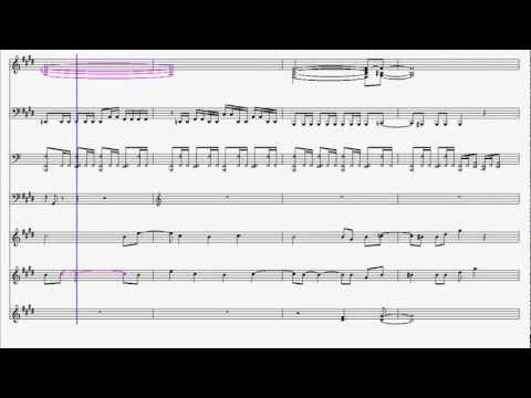 Mega Man II: Dr. Wily's Stage 1 Sheet Music
