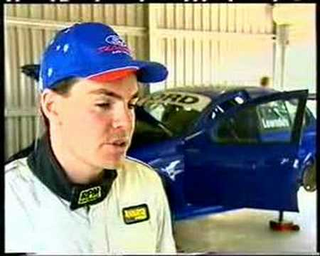 Craig Lowndes First Test In A Ford