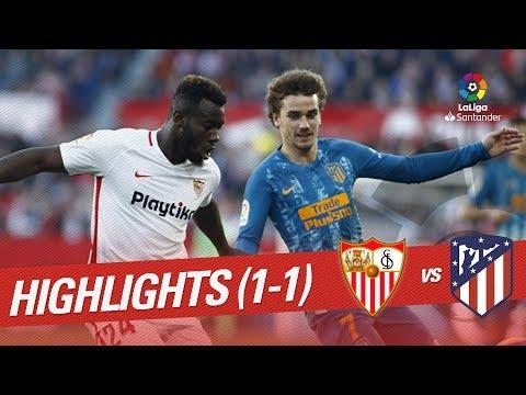 Highlights Sevilla FC vs Atletico de Madrid (1-1) Mp3