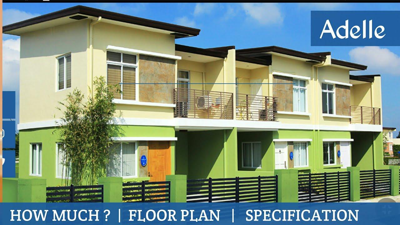 Lancaster New City Cavite Simple House Adelle Townhouse Model Youtube