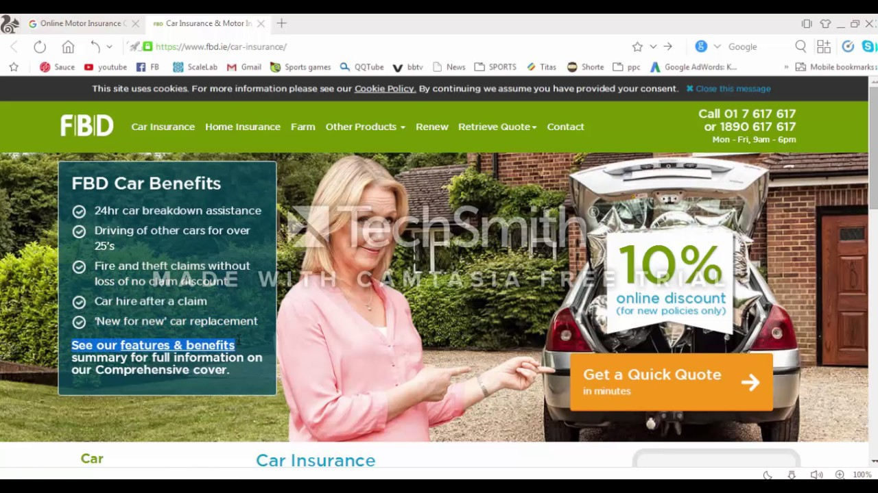 Car Insurance Motor Insurance Quotes Online - FBD ...