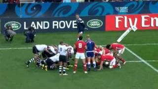 Rugby union Wales vs Fiji at Hamilton, New Zealand part 4.