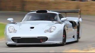 $3.3M Porsche 911 GT1 EVO CRAZY SOUND on Track!