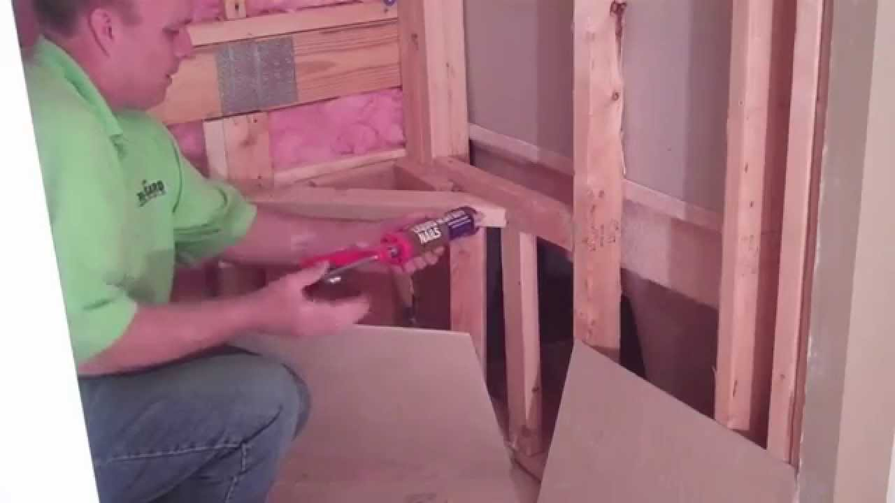 How to correctly Build a Shower Bench - by TrugardDirect.com - YouTube