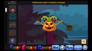 Halloween Jack O Lantern Escape   Walkthrough First Escape Games