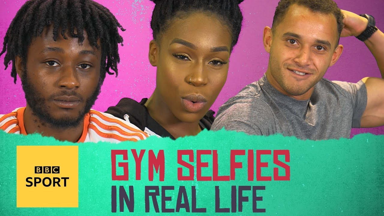 In Real Life: Gym selfies - what people really think - BBC Sport