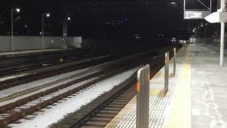 東急田園都市線・大井町線高津駅通過シーン