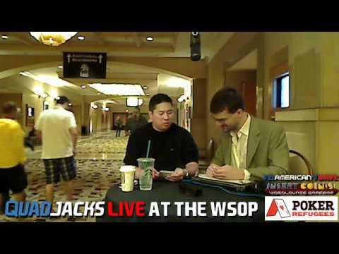 Bernard Lee QuadJacks Live at the WSOP June 17, 2012