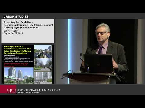 Planning for Peak Car:  How Urban Development is Moving Beyond Auto Dependence