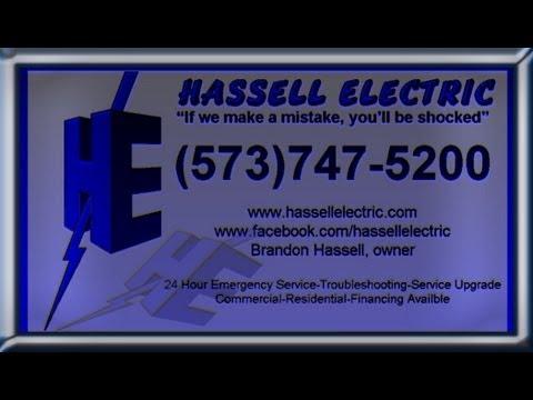 Potosi Mo. electrican Hassell Electric (573)747-5200