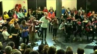 Musiques et danses Irlandaises AURILLAC mars 2015 concert avec les élèves 2