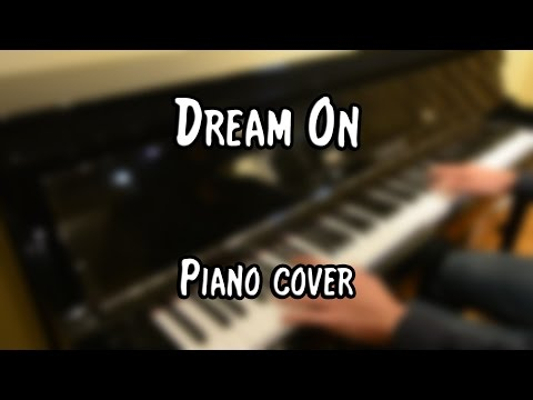 Aerosmith - Dream On (piano cover & free sheet music)