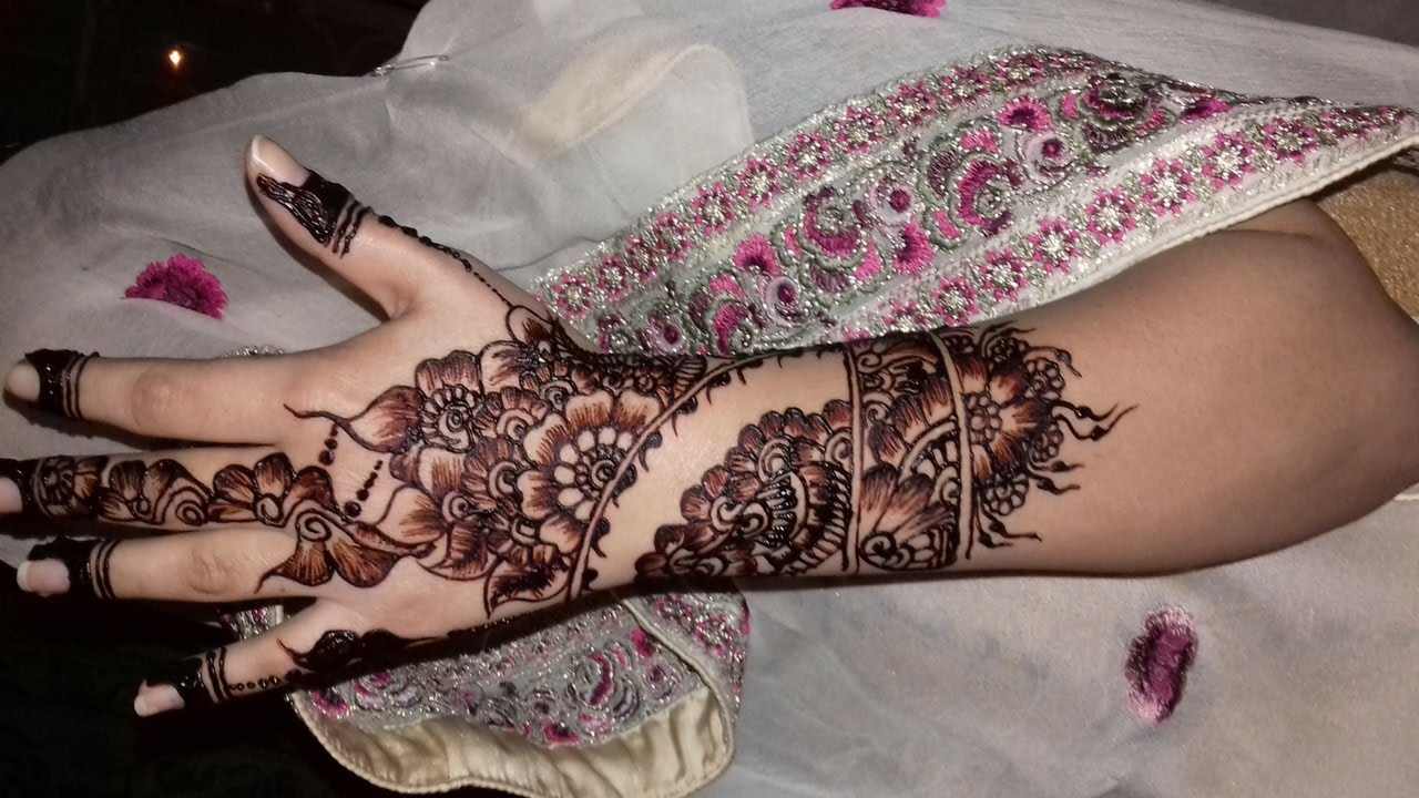 Mehndi design 2017 ki - Mehndi Designs On Hands 2017 Simple Easy Way New Year Mehndi Design 2017