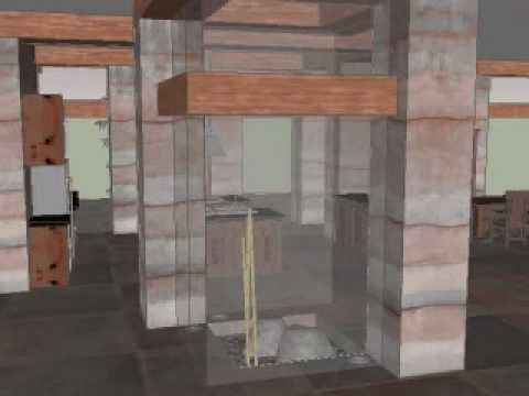 Rammed Earth Gallery House