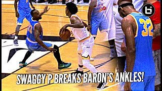 Nick Young BREAKS Baron Davis' ANKLES & HITS THE 3!! + Defender Learns Lesson in Karma LOL